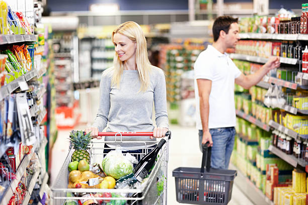 shopping at a supermarket essay