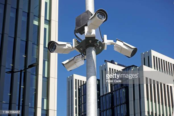 surveillance camera in london - terrorism stock pictures, royalty-free photos & images