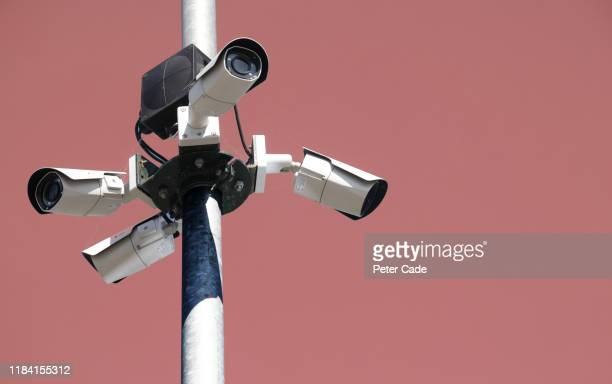 surveillance camera - safety stock pictures, royalty-free photos & images
