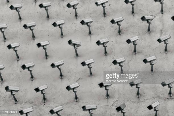 surveillance cameras - surveillance stock pictures, royalty-free photos & images