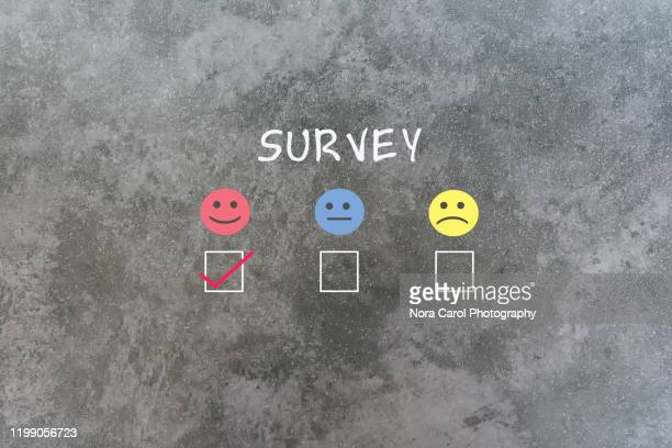 survey checkmark - questionnaire stock pictures, royalty-free photos & images