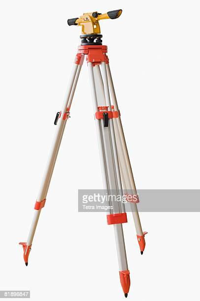 Surveying equipment on tripod