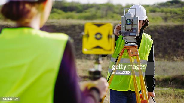 surveying - topography stock pictures, royalty-free photos & images