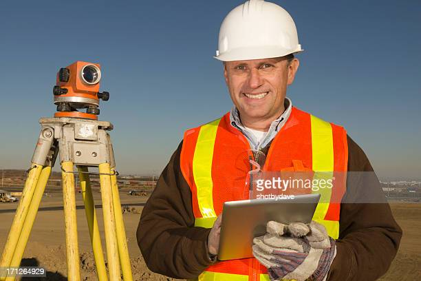 Surveyor and Tablet