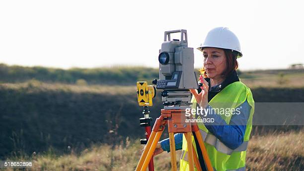 surveyor - topography stock pictures, royalty-free photos & images