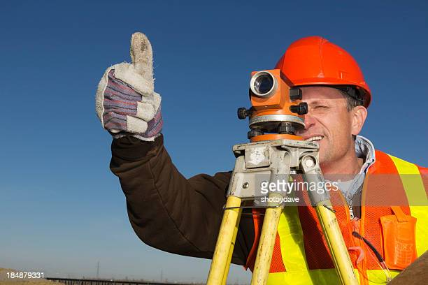 Surveyor Thumbs Up