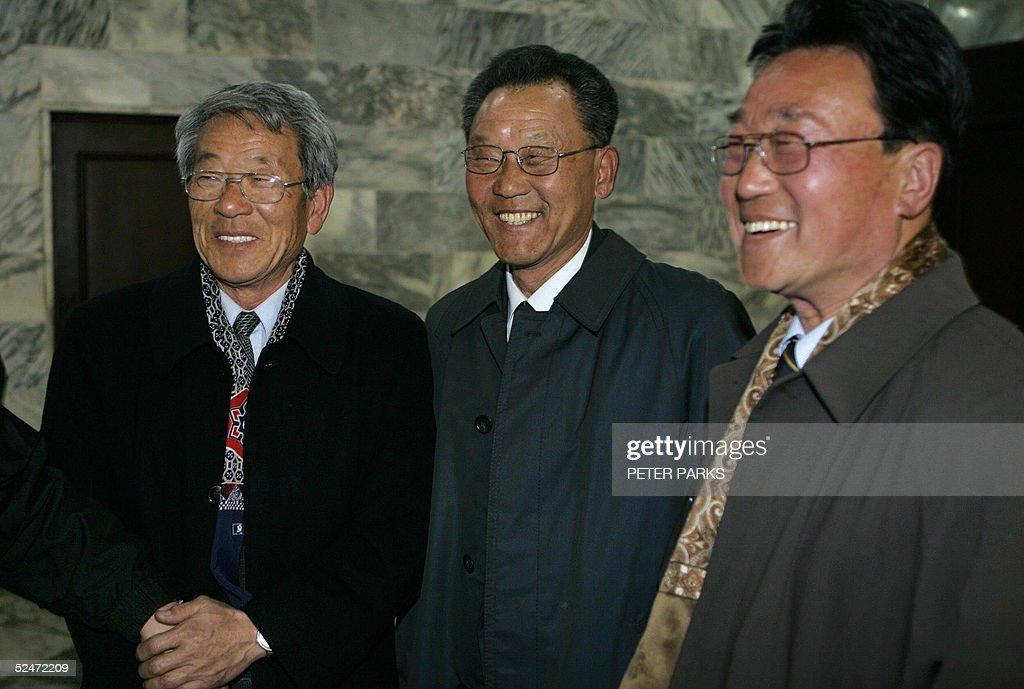 Surviving members of North Korea's famou : News Photo