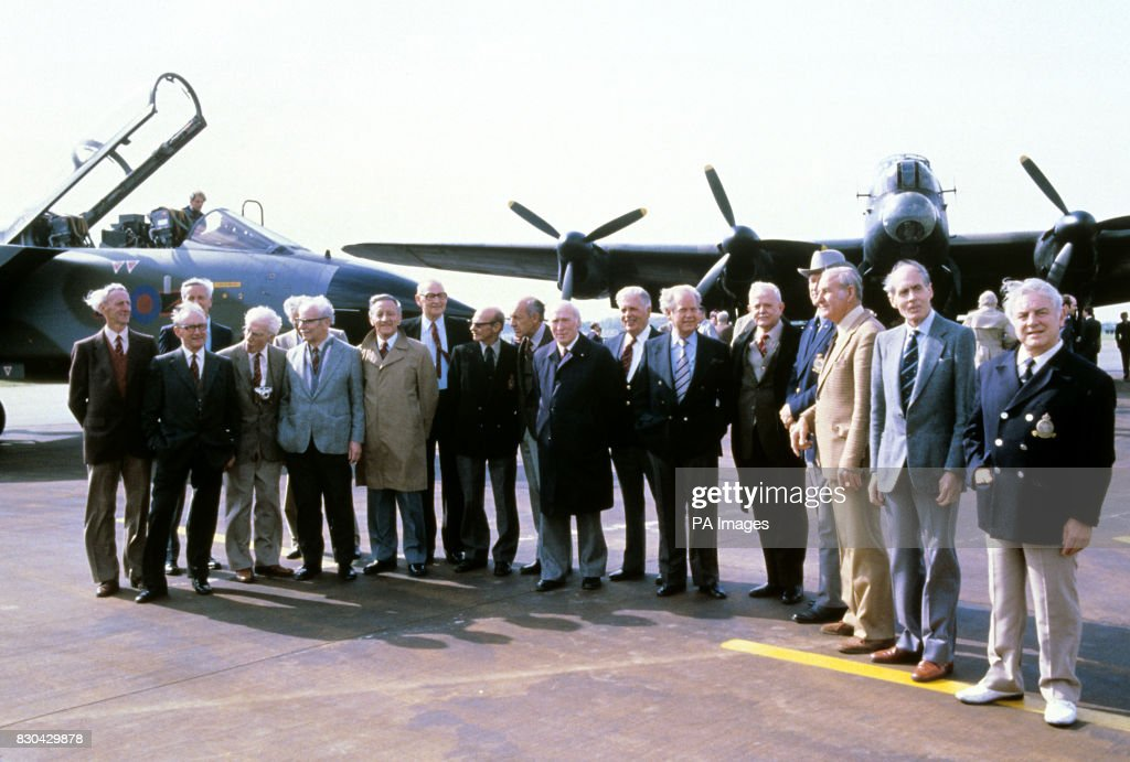 Surviving Members Of The Wartime 617 Squadron Dam Busters