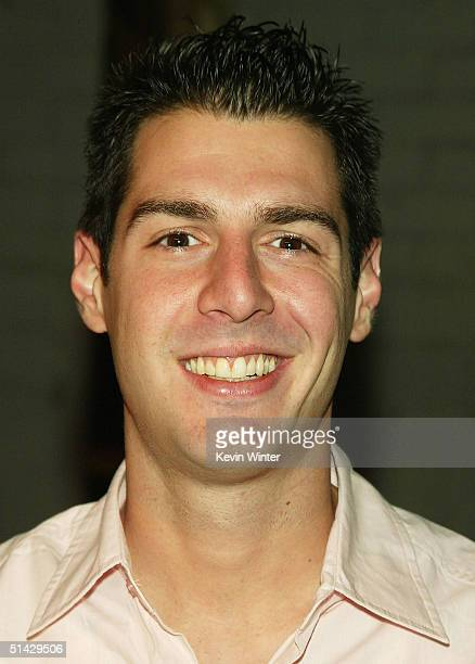 Survivor 6's Rob Cesternino arrives at a party to celebrate the DVD release of Reality Unleashed at Pearl on October 5 2004 in West Hollywood...