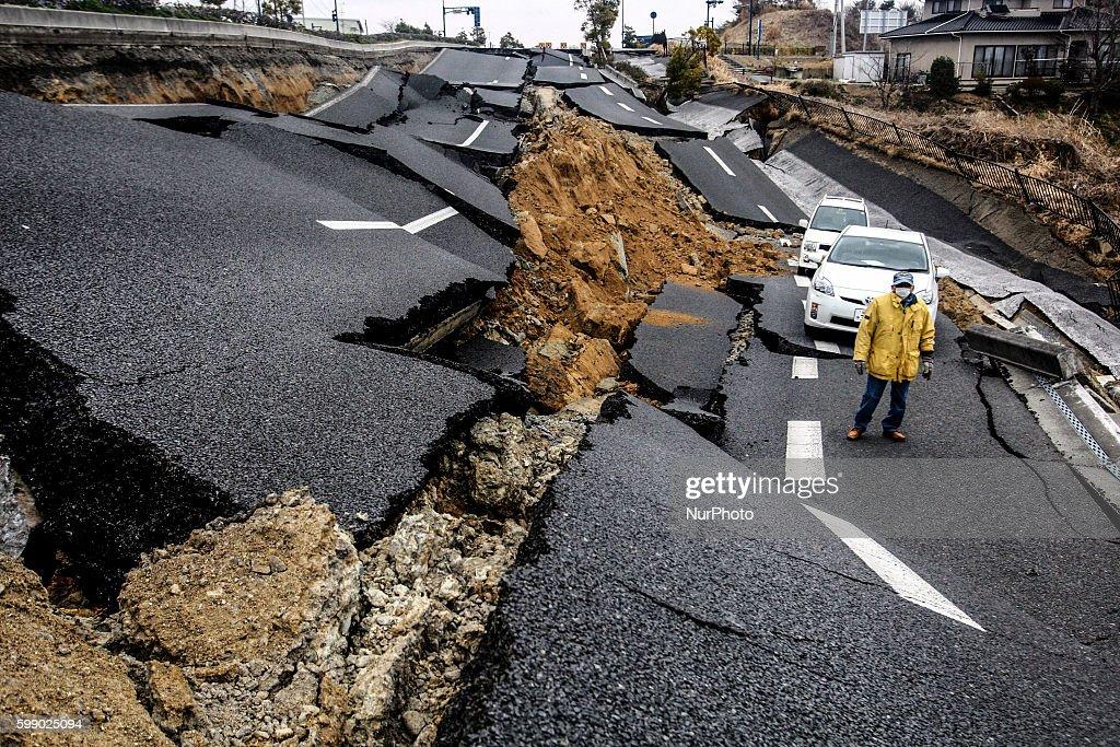 3.11 Japan earthquake and Tsunami : Fotografía de noticias
