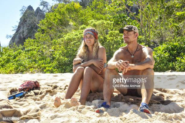 'Survivor Jackpot' Sierra DawnThomas and Brad Culpepper on the third episode of SURVIVOR Game Changers airing Wednesday March 15 on the CBS...