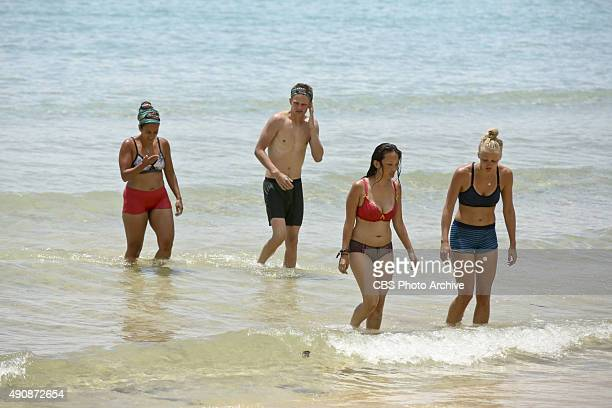 Survivor MacGyver Shirin Oskooi Spencer Bledsoe PeihGee Law and Kelley Wentworth during the second episode of SURVIVOR Wednesday Sept 30 The new...