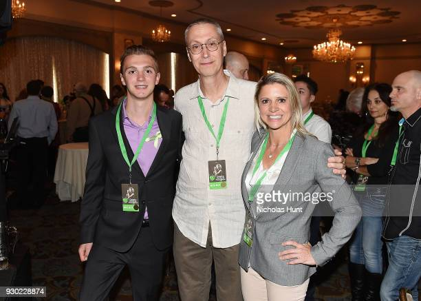 Survivor of Stoneman Douglas High School shooting Thomas Holgate Albert 'Bud' Grimmie and Lisa Fine Survivor of the Route 91 Festival Shooting attend...