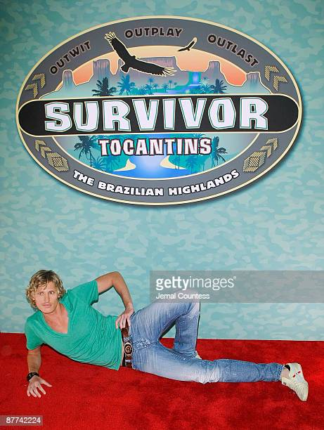 "Survivor season 18 contestant Tyson Apostol attends the finale of CBS's ""Survivor: Tocantins The Brazilian Highlands"" at the Ed Sullivan Theater on..."