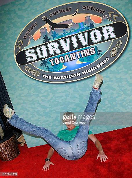 Survivor season 18 contestant Tyson Apostol attends the finale of CBS's Survivor Tocantins The Brazilian Highlands at the Ed Sullivan Theater on May...
