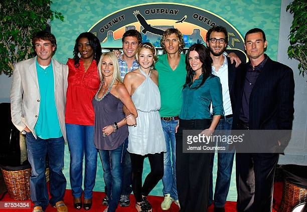 Survivor Season 18 winner James JT Thomas Jr with survivor season 18 contestants Tamara Taj JohnsonGeorge Debra Debbie Beebee Tyson Apostol Sierra...