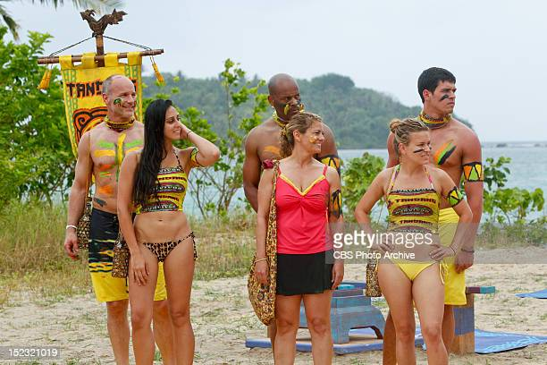 """""""Survivor Smacked Me In The Chops"""" Michael Skupin, Roberta """"RC"""" Saint-Amour, Artis Silvester, Lisa Whelchel, Abi-Maria Gomes and Peter """"Pete""""..."""