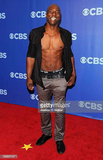 Survivor's James Clement attends the 2010 CBS UpFront at Damrosch Park Lincoln Center on May 19 2010 in New York City