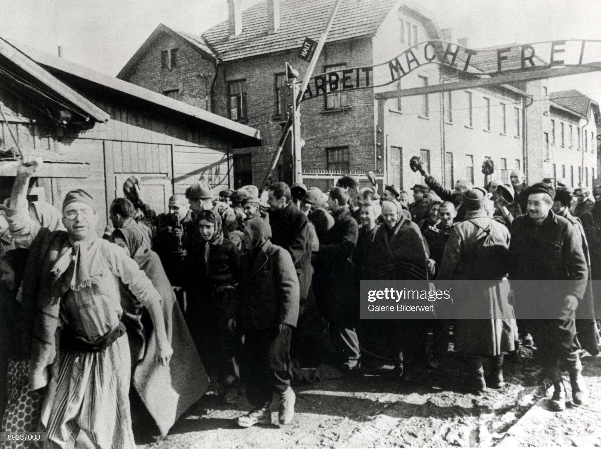 Auschwitz Survivors : News Photo