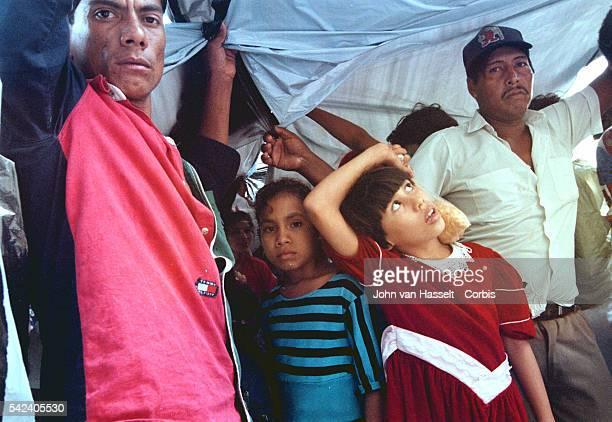 Survivors of Hurricane Mitch in Granada Nicaragua