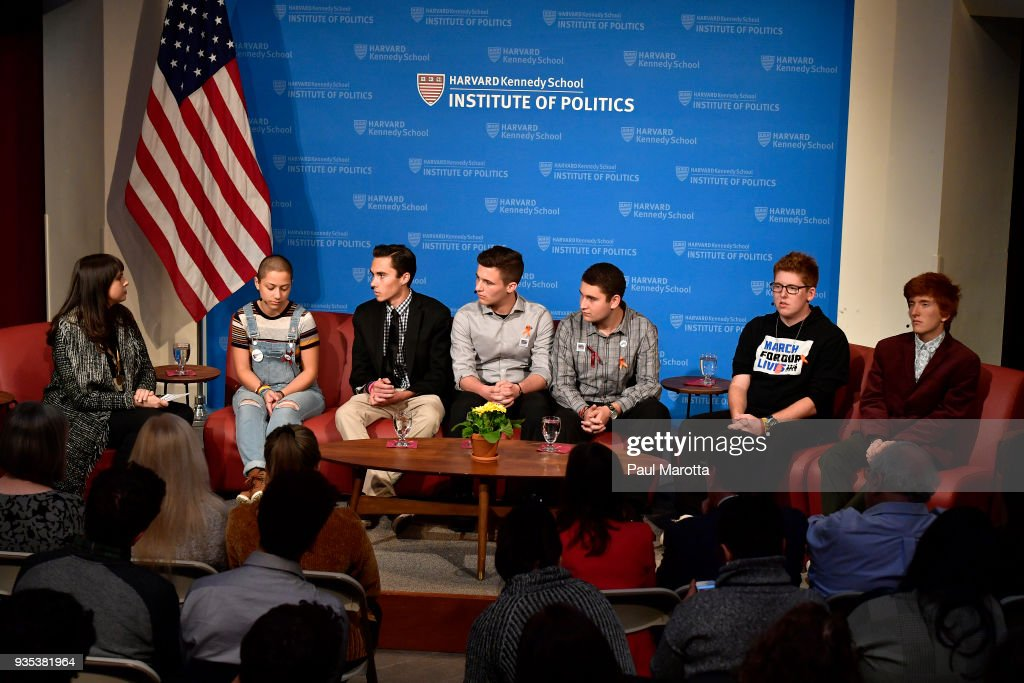 Survivors Of Stoneman Douglas High School Shooting Speak at Panel Discussion At Harvard