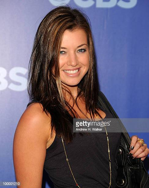 Survivor's Parvati Shallow attends the 2010 CBS UpFront at Damrosch Park Lincoln Center on May 19 2010 in New York City