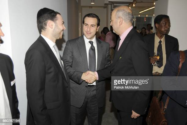 Sury Cattan, Simon Masri and Enrique Norten attend Preview Cocktail Party for the Launch of CASSA Designed by ENRIQUE NORTEN at CASSA Showroom on...