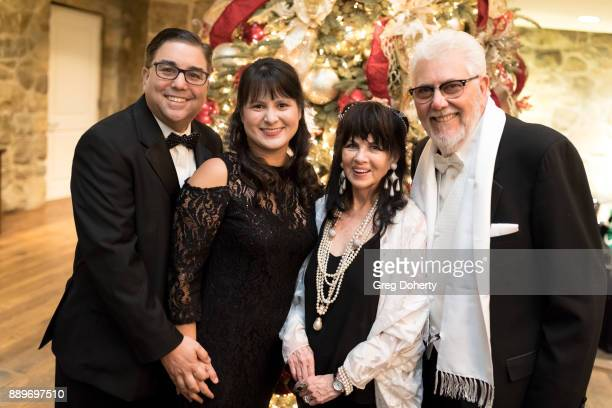 Susan and Jeff Shapiro and Barbara CohenWolfe and Larry Wolfe attend The Thalians Hollywood for Mental Health Holiday Party 2017 at the Bel Air...