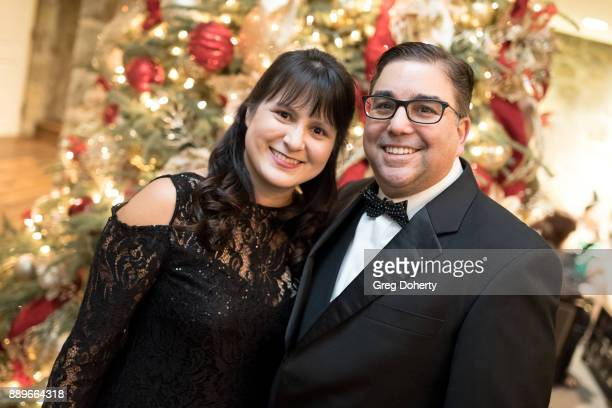 Susan and Jeff Shapiro attend The Thalians Hollywood for Mental Health Holiday Party 2017 at the Bel Air Country Club on December 09 2017 in Bel Air...