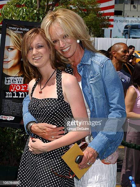 Susan Anton and niece Katherine during New York Minute World Premiere Arrivals at Grauman's Chinese in Hollywood California United States