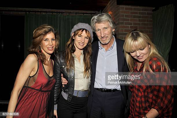 """Susan Anton, Juliette Lewis, Roger Waters and Fiona Byrns attend THE CINEMA SOCIETY & DETAILS host the after party for """"MILK"""" at Bowery Hotel on..."""