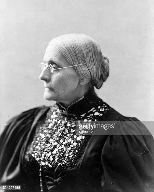 Susan B. Anthony, 1890.