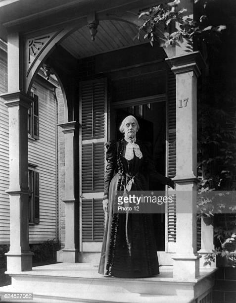 Susan B. Anthony 1900._Frances Benjamin Johnston.