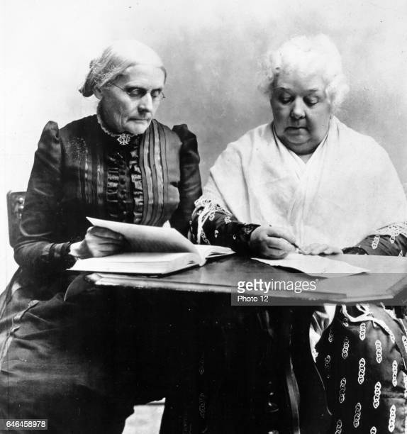 Susan B Anthony and Elizabeth Cady Stanton Two great pioneers in the Equal Rights cause Without them American women would not have progressed as far...