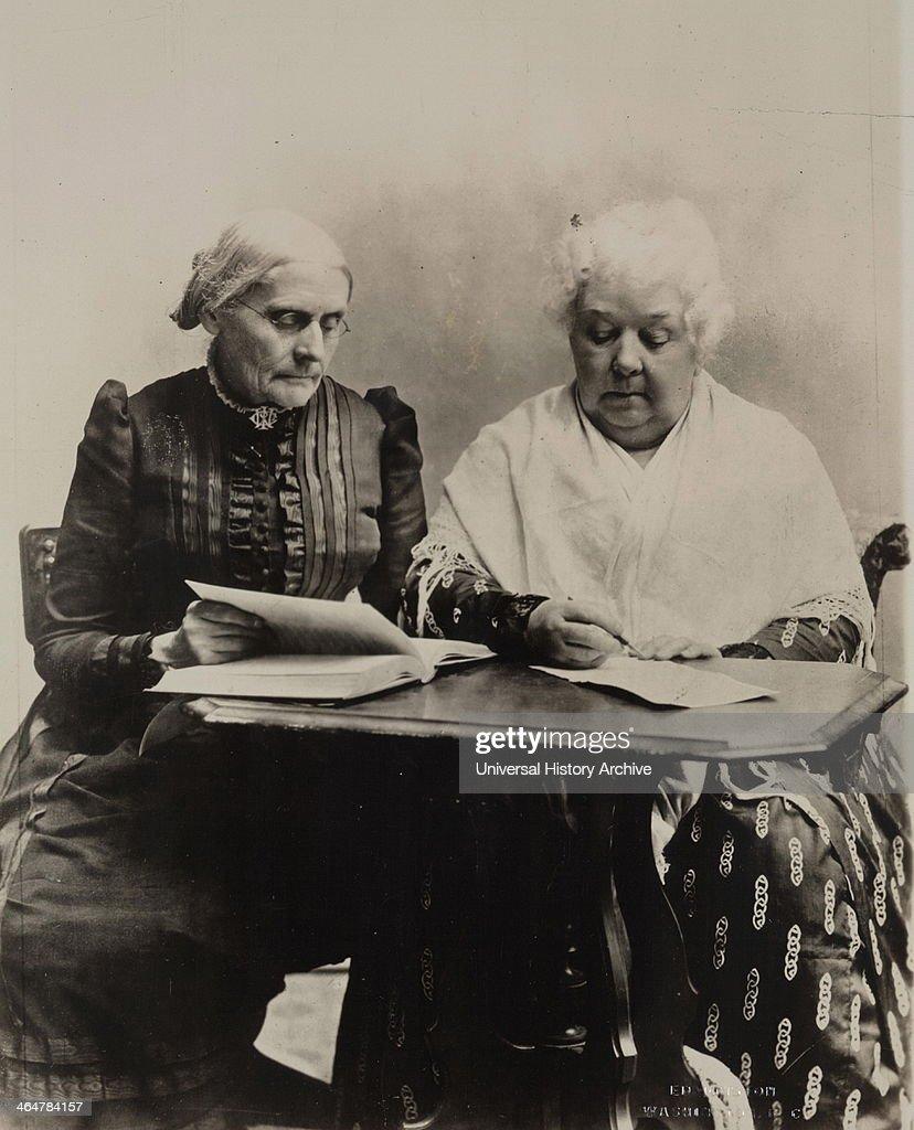 Susan B. Anthony, Elizabeth Cady Stanton, 1899