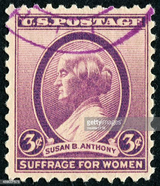 susan b. anthony stamp - susan b anthony stock pictures, royalty-free photos & images