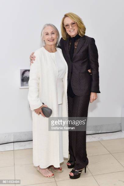 Susan Bay Nimoy and Ann Philbin at the Hammer Museum 15th Annual Gala in the Garden with Generous Support from Bottega Veneta on October 14 2017 in...
