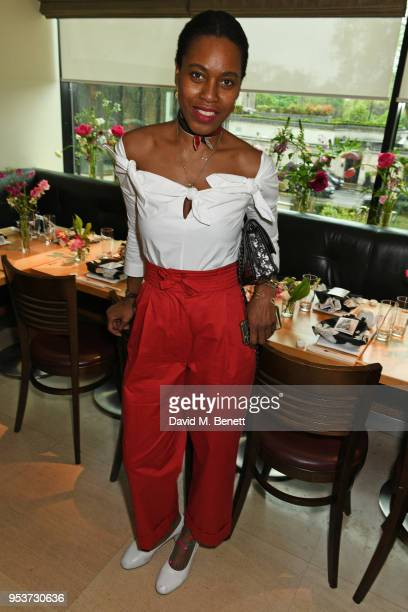 Susan Bender attends an exclusive lunch at Nobu hosted by Serafina Sama celebrating the Isa Arfen Spring/Summer 2018 pop up at Liberty on May 2 2018...