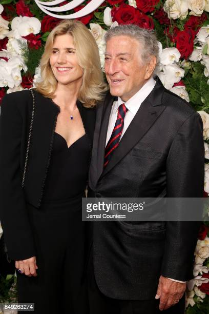 Susan Benedetto and Tony Bennett attend the American Theatre Wing Centennial Gala at Cipriani 42nd Street on Septembe