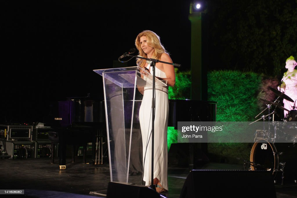 Susan Benedetto attends the Tony Bennett Benefit Gala at Vizcaya Museum and Gardens on March 19, 2012 in Miami, Florida.
