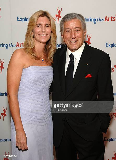 Susan Bennett and Musician Tony Bennett during the Tony Bennett Exploring the Arts Benefit at Radio City Music Hall on September 9 2007 in New York...