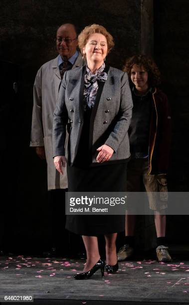 Susan Bickley attends the opening night of The English National Opera's The Winter's Tale on February 27 2017 in London England