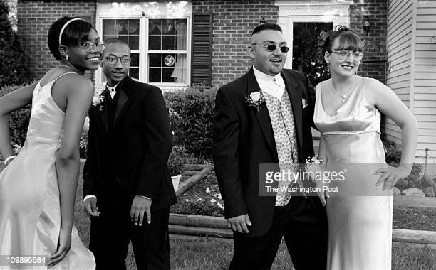 Susan Biddle - TWP. Woodbridge, Va. And area BRIEF DESCRIPTION: girls invite boys to junior prom Tracie Grogan, 16 and Tina Barnett both students at...