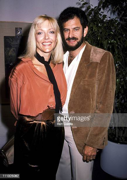 Susan Blakely and Steve Jaffe during Opening Exhibit of Designer Milton Katselas at Fine Arts Service Complex in Hollywood California United States