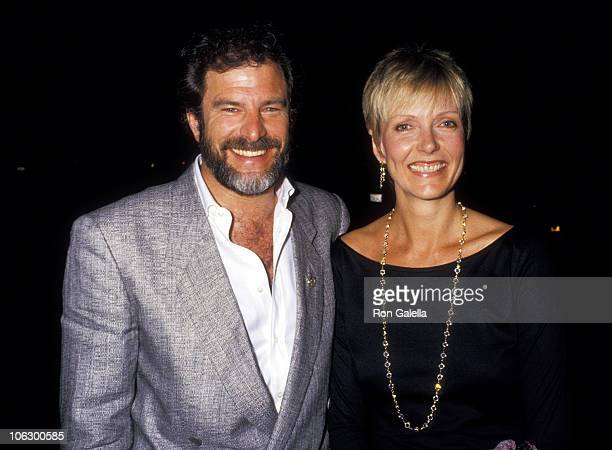 Susan Blakely and Steve Jaffe during Susan Blakely and Steve Jaffe at Spago at Spago in West Hollywood California United States