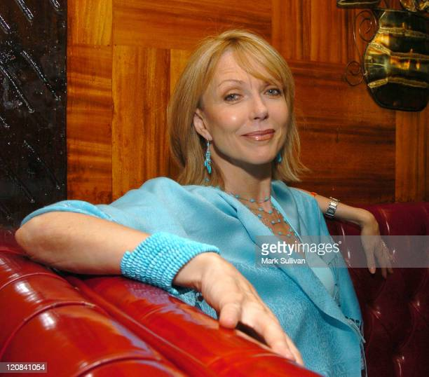 Susan Blakely during Hate Crime EPK Shoot at The Gardens of Taxco in West Hollywood California United States