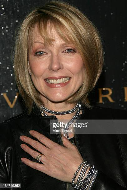 Susan Blakely during Heist NBC series party at Bulgari store on Rodeo Dr in Beverly Hills California United States