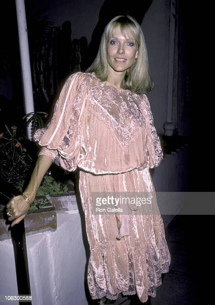 Susan Blakely during Susan Blakely at Spago at Spago in West Hollywood California United States