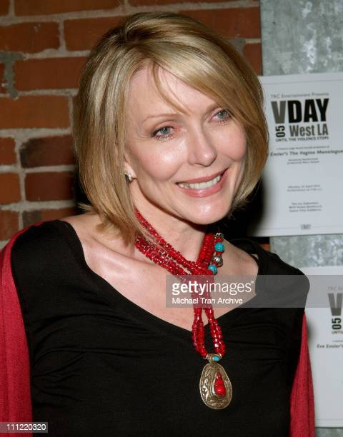 Susan Blakely during VDay West LA 2006 Benefit Production of Eve Ensler's The Vagina Monologues Show and After Party at The Actors Gang Theatre in...