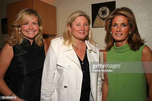 Susan Bodnar Malloy Courtney Arnot and Grace Meigher attend Kickoff of The Society of Memorial SloanKettering Cancer Center's Preview Party for The...